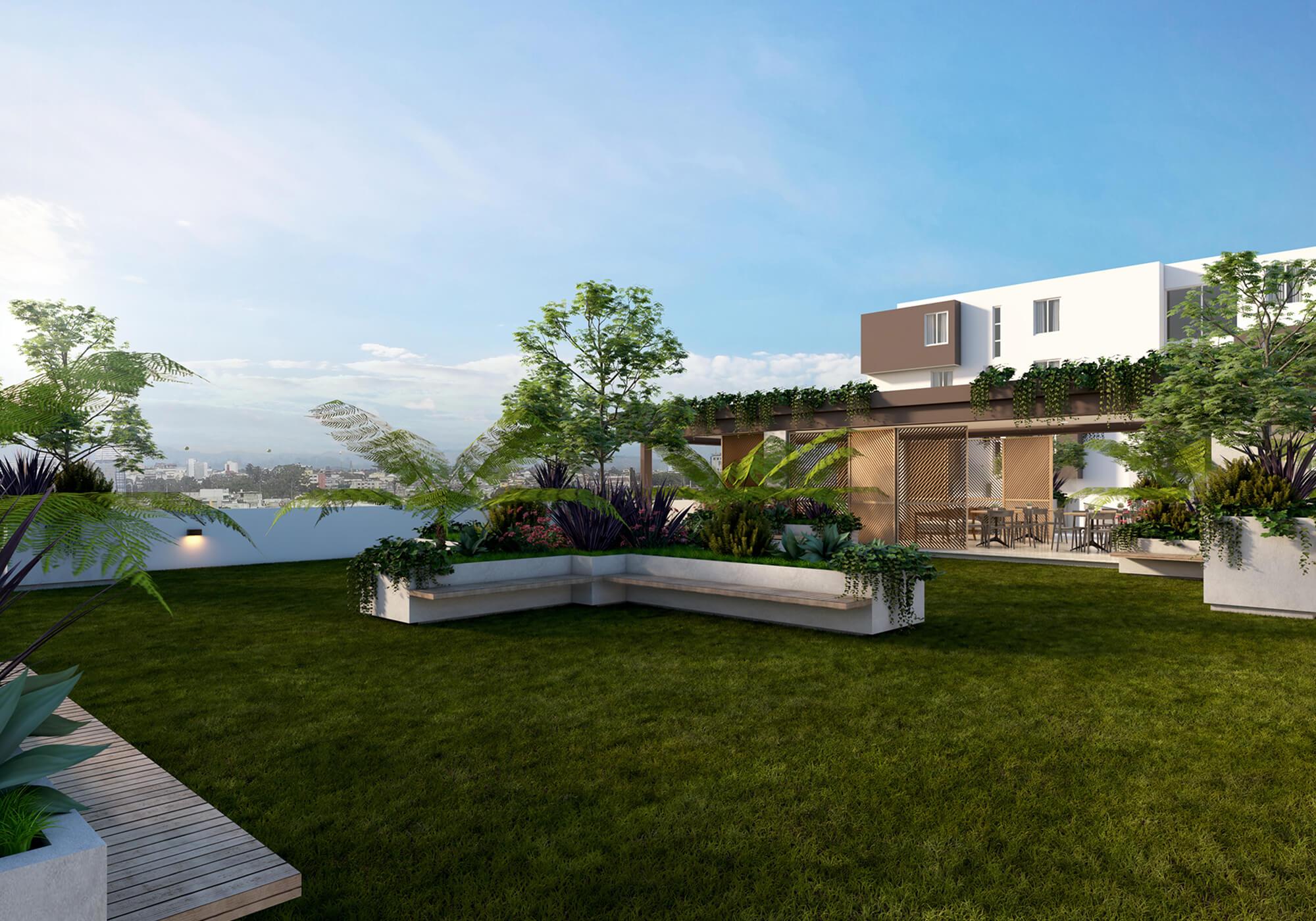 vidali green rooftop